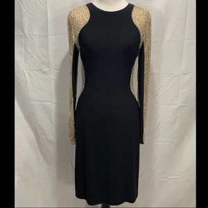 Xscape woman bodycon embellished dress